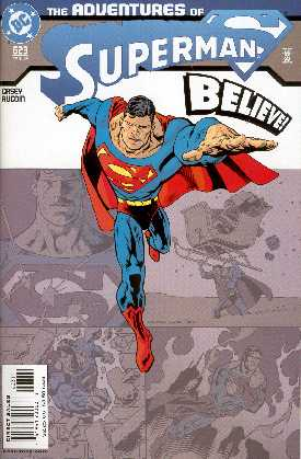 THE ADVENTURES OF SUPERMAN 623 (PORTADA DE KEVIN NOWLAN)
