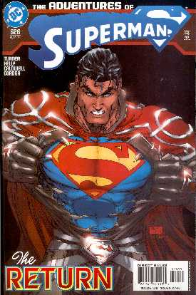 THE ADVENTURES OF SUPERMAN 626 (PORTADA DE MICHAEL TURNER)
