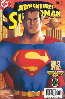 THE ADVENTURES OF SUPERMAN 628 (PORTADA DE GENE HA)