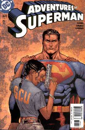 THE ADVENTURES OF SUPERMAN 629 (PORTADA DE DOUG MAHNKE AND TOM NGUYEN)